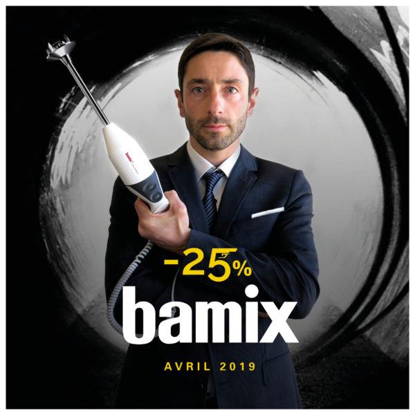 Action Bamix Gastro 200 Avril 2019 chez Cash Hôtel
