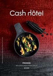 En promotion chez Cash Hôtel
