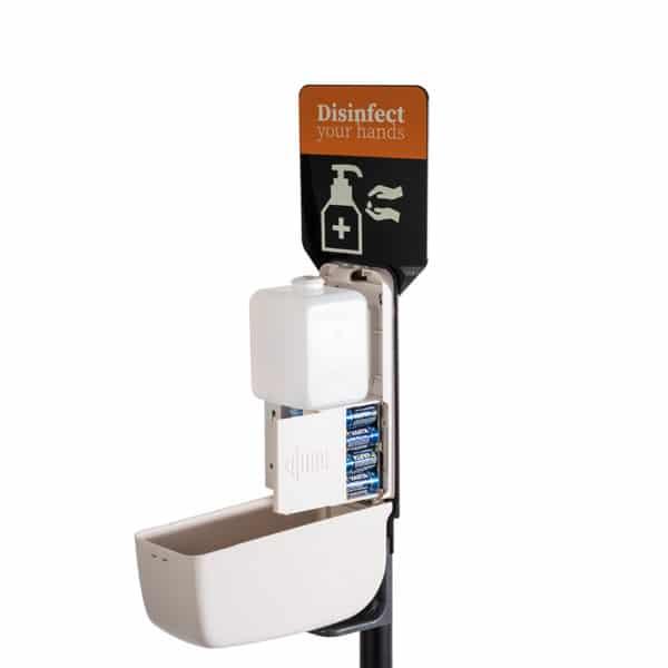 Colonne Dispenser automatique pour produits désinfectants